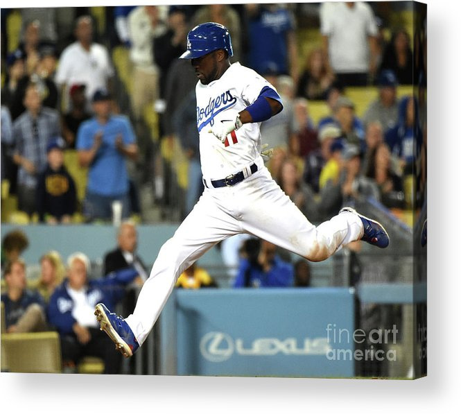 People Acrylic Print featuring the photograph Jimmy Rollins by Harry How