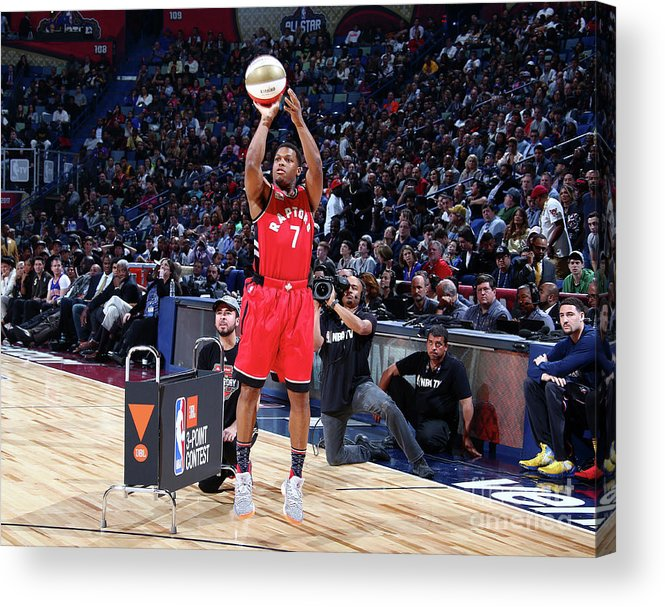 Event Acrylic Print featuring the photograph Kyle Lowry by Nathaniel S. Butler