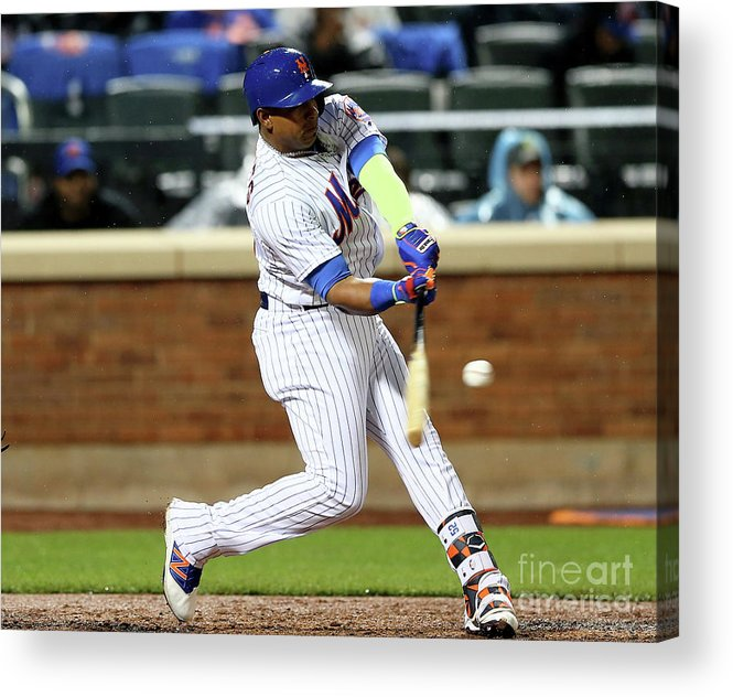 Yoenis Cespedes Acrylic Print featuring the photograph Yoenis Cespedes by Elsa