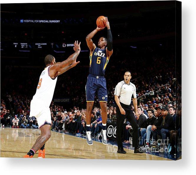 Nba Pro Basketball Acrylic Print featuring the photograph Joe Johnson by Nathaniel S. Butler