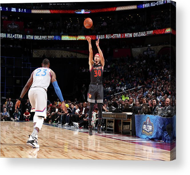 Event Acrylic Print featuring the photograph Stephen Curry by Nathaniel S. Butler