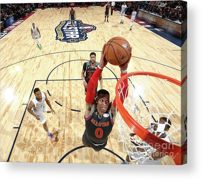 Event Acrylic Print featuring the photograph Russell Westbrook by Nathaniel S. Butler