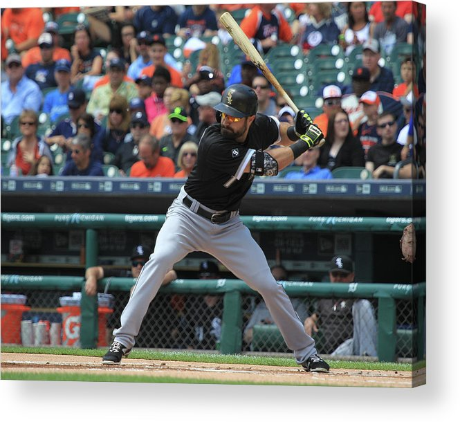 People Acrylic Print featuring the photograph Adam Eaton by Dave Reginek