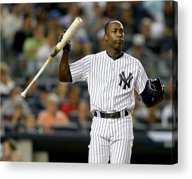 Alfonso Soriano Acrylic Print featuring the photograph Alfonso Soriano by Elsa