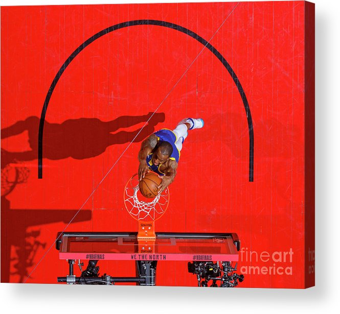 Playoffs Acrylic Print featuring the photograph Andre Iguodala by Mark Blinch