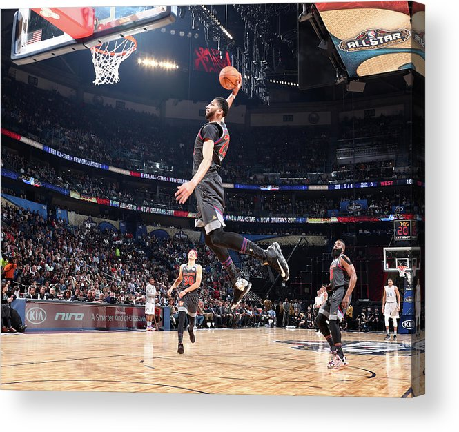 Event Acrylic Print featuring the photograph Anthony Davis by Nathaniel S. Butler