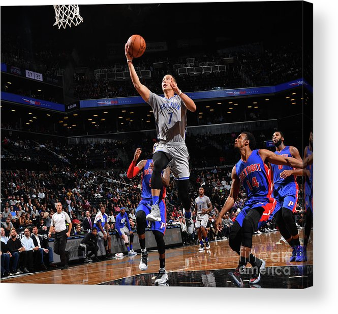 Nba Pro Basketball Acrylic Print featuring the photograph Jeremy Lin by Jesse D. Garrabrant