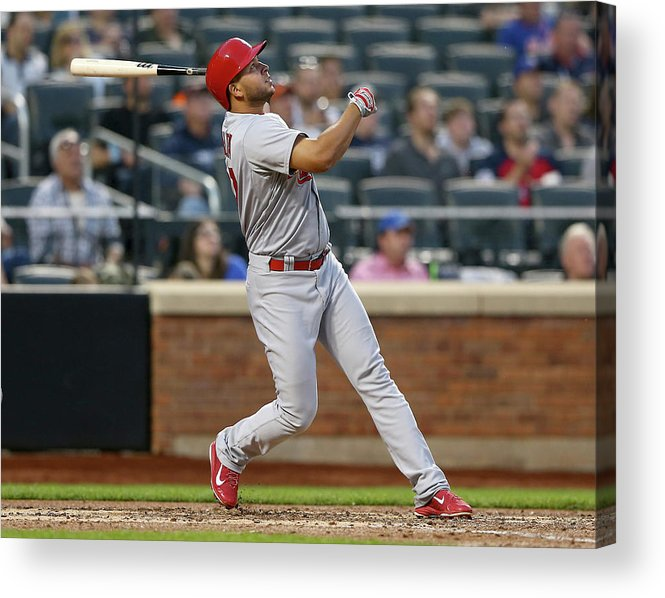 St. Louis Cardinals Acrylic Print featuring the photograph Jhonny Peralta by Elsa