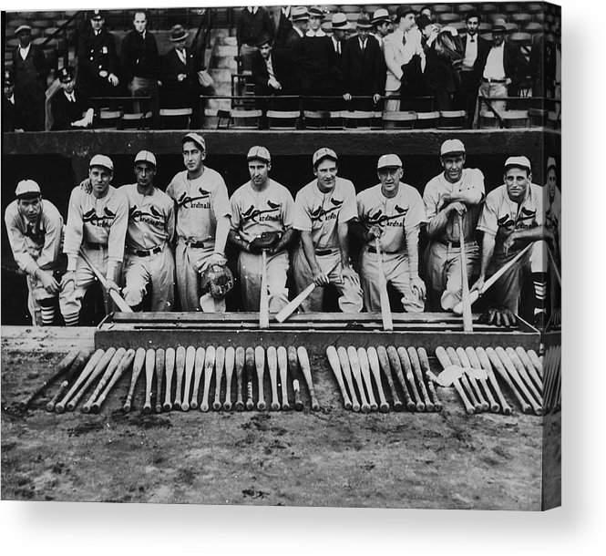 St. Louis Cardinals Acrylic Print featuring the photograph Leo Durocher by Fpg