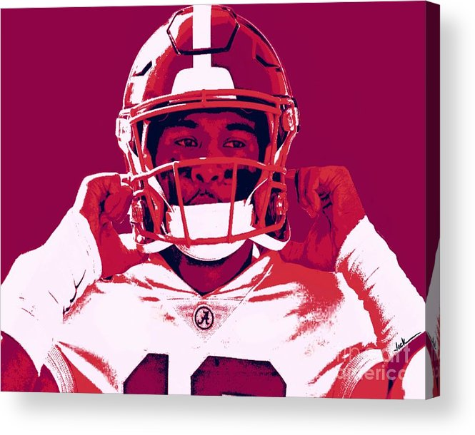Tua Acrylic Print featuring the painting Tua by Jack Bunds