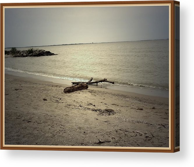 Sea Acrylic Print featuring the photograph Lonely Seashore by Anandi Godse
