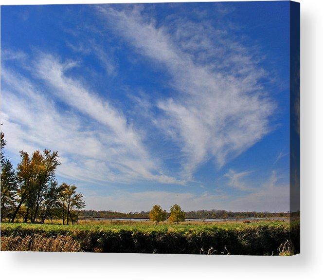 Landscape Acrylic Print featuring the photograph Squaw Creek Landscape by Steve Karol