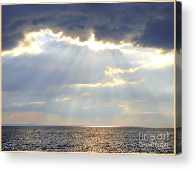 Nature Acrylic Print featuring the photograph Suns Rays by Rennae Christman