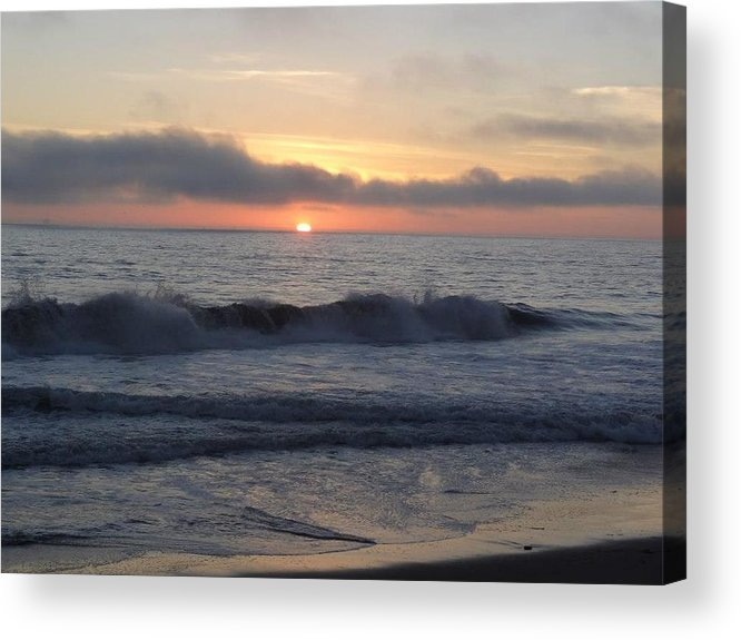 Nature Acrylic Print featuring the photograph Sunset by Anandi Godse