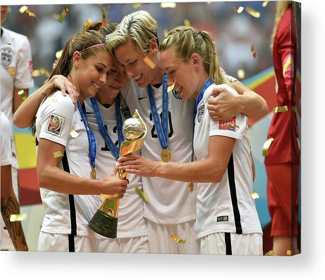 Abby Wambach Acrylic Print featuring the photograph Usa V Japan Final - Fifa Womens World by Rich Lam