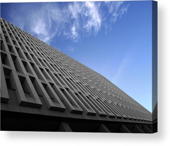 Building Acrylic Print featuring the photograph ABC by Kelly King