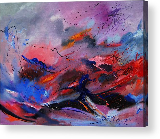 Abstract Acrylic Print featuring the painting Abstract 971260 by Pol Ledent