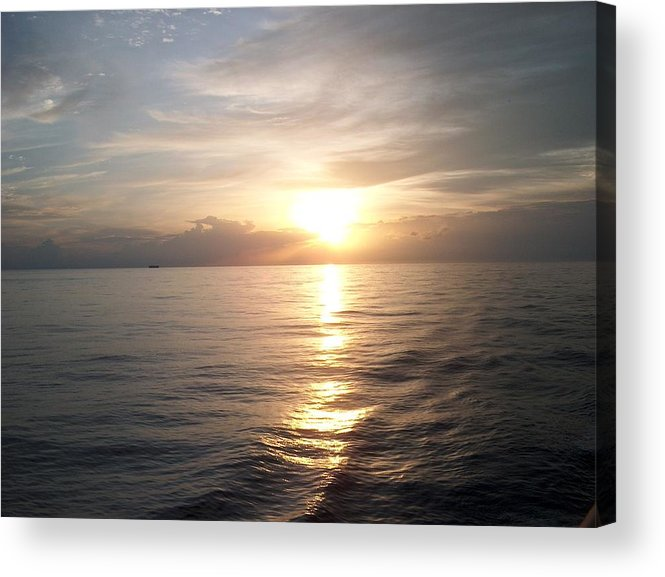 Sunset Acrylic Print featuring the photograph Acapulco Sunset by Janet Hall