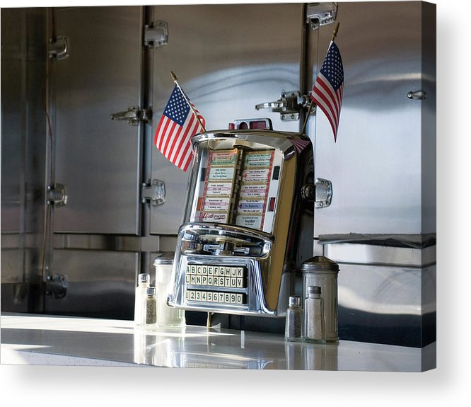 Diner Acrylic Print featuring the photograph Americana by Randy Ford