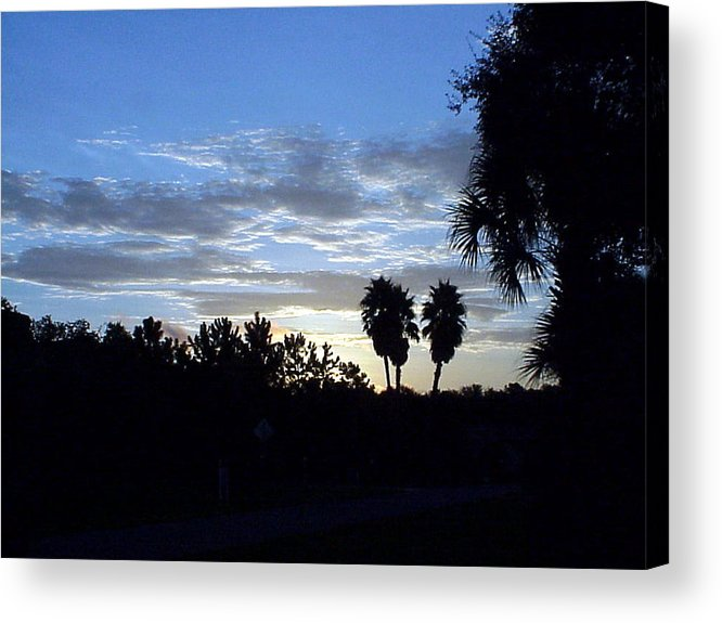 Sunrise-sunset Photograph Acrylic Print featuring the photograph Daybreak in Florida by Frederic Kohli