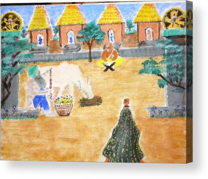 Acrylic Print featuring the painting Harmony by R B