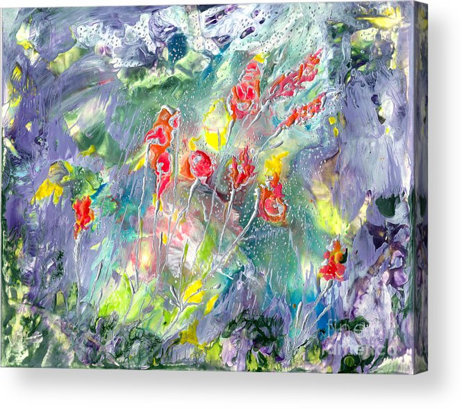 Hope Acrylic Print featuring the painting Hope by Heather Hennick