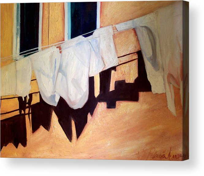 Acrylic Print featuring the painting Italian Wash by Patricia Arroyo