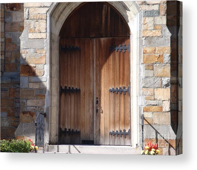 Door Acrylic Print featuring the photograph Knock And It Will Open by Robyn Leakey