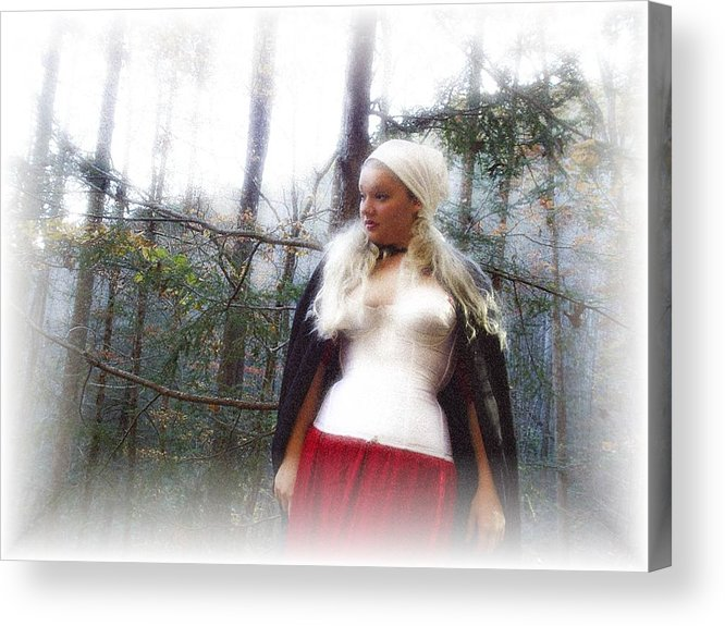 Fall Acrylic Print featuring the photograph Lost Feelings by Scarlett Royal