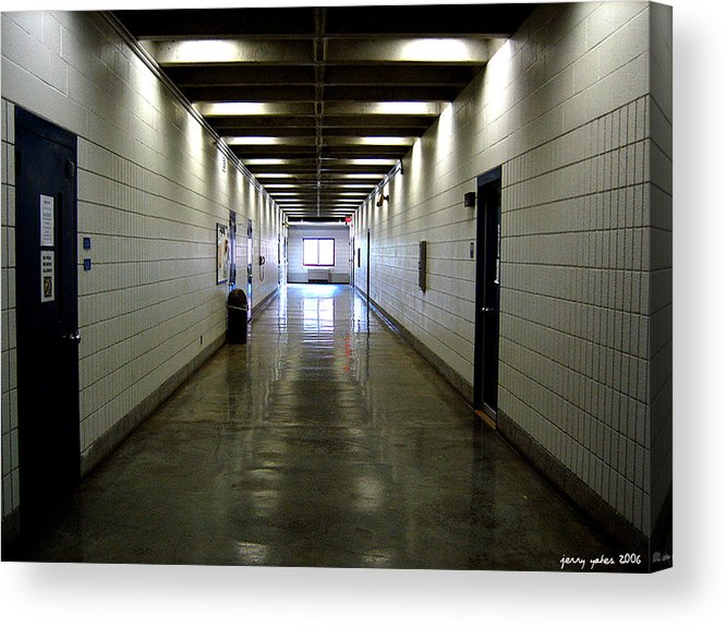 Music Acrylic Print featuring the photograph Music Hallway by Gerard Yates