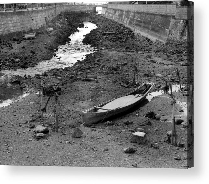 Okinaawa Canow Acrylic Print featuring the photograph Oki-canoe by Curtis J Neeley Jr