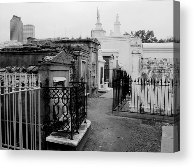 New Orleans Acrylic Print featuring the photograph Old And New by Linda Kish