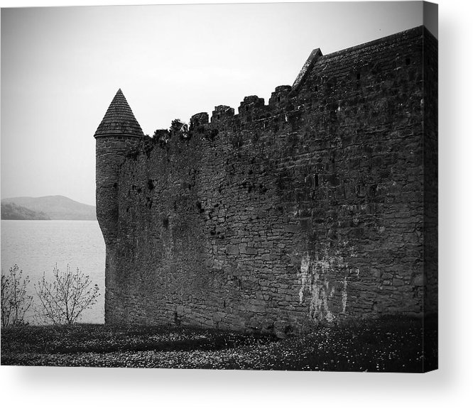 Ireland Acrylic Print featuring the photograph Parkes Castle County Leitrim Ireland by Teresa Mucha