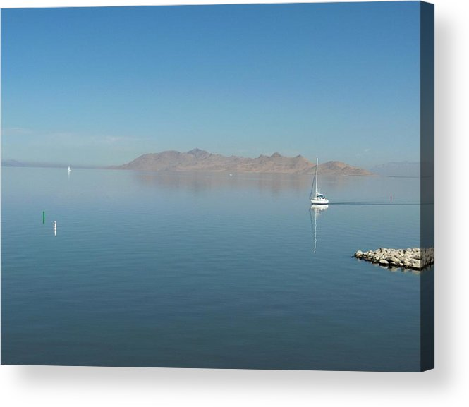 Landscape Acrylic Print featuring the photograph Peaceful Existence by Janet Hall