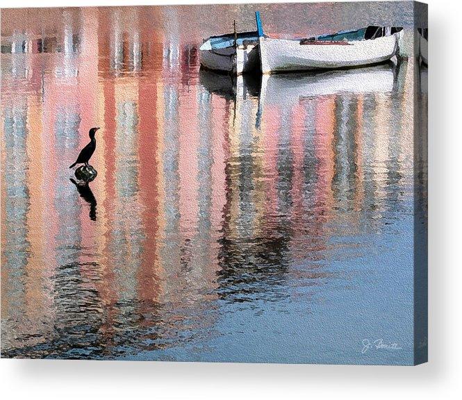 Reflections Acrylic Print featuring the photograph Portofino by Joe Bonita