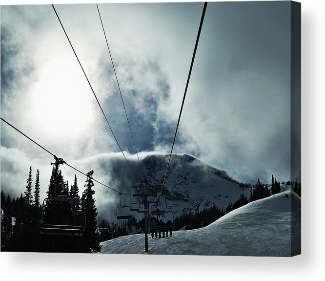 Landscape Acrylic Print featuring the photograph Rise To The Sun by Michael Cuozzo