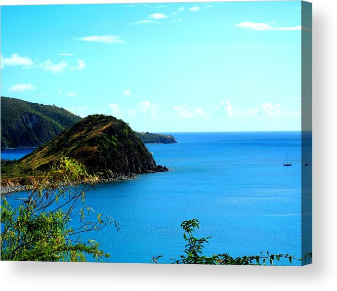 St Kitts Acrylic Print featuring the photograph Safe Harbor by Ian MacDonald
