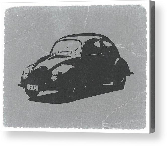 Vw Beetle Acrylic Print featuring the photograph VW Beetle by Naxart Studio