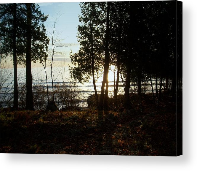 Washington Island Acrylic Print featuring the photograph Washington Island Morning 3 by Anita Burgermeister
