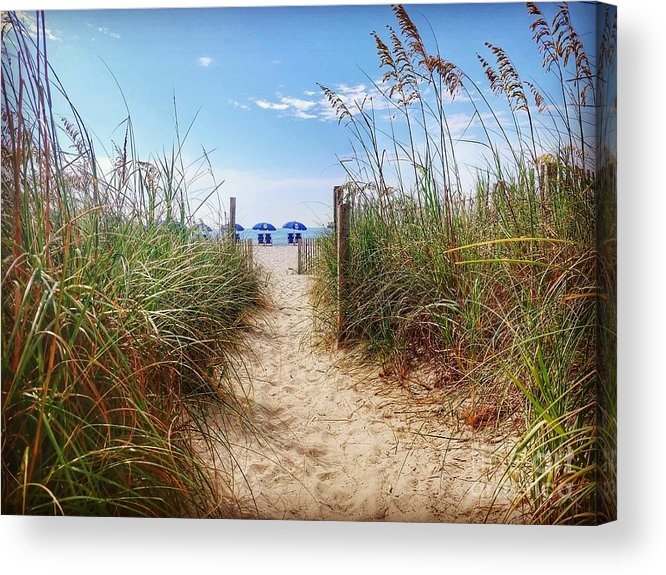 Beach Acrylic Print featuring the photograph Welcome to the Beach by Noel Adams