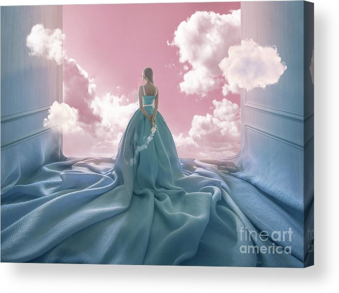 People Acrylic Print featuring the photograph Ascesis by Vizerskaya