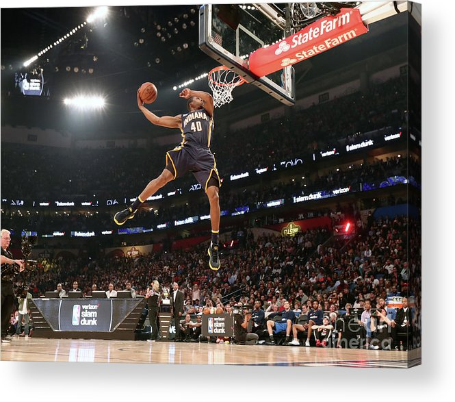 Event Acrylic Print featuring the photograph Verizon Slam Dunk Contest 2017 by Nathaniel S. Butler