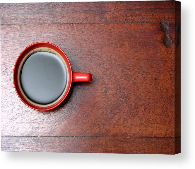Motivation Acrylic Print featuring the photograph Coffee Chill Out by Fotografiabasica