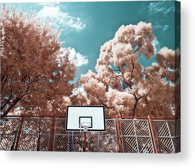 Tranquility Acrylic Print featuring the photograph Digital Infrared Photos by Terryprince