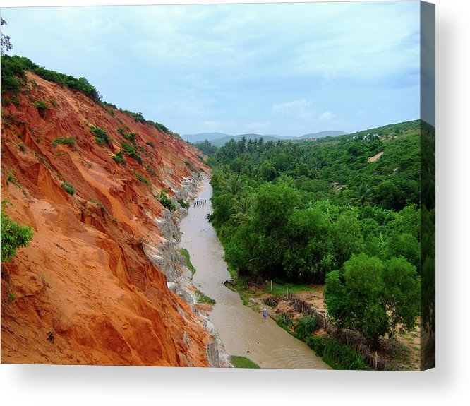 Tranquility Acrylic Print featuring the photograph Fairy Springs In Mui Ne by Thomas Davis