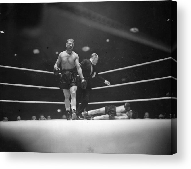 People Acrylic Print featuring the photograph Lesnevich Win by David Savill