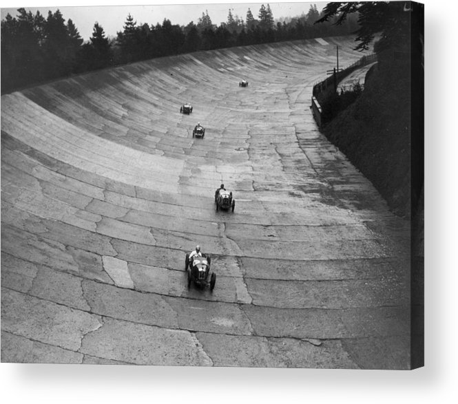 Speed Acrylic Print featuring the photograph Need For Speed by E. F. Corcoran
