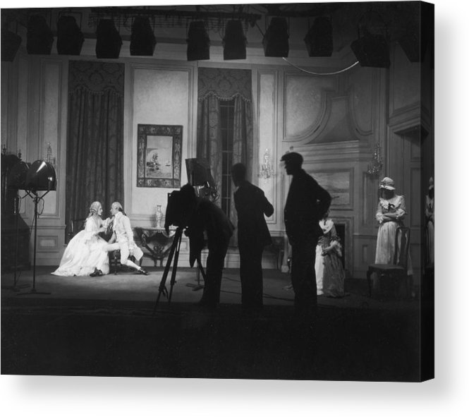 People Acrylic Print featuring the photograph Stage Photography by Sasha