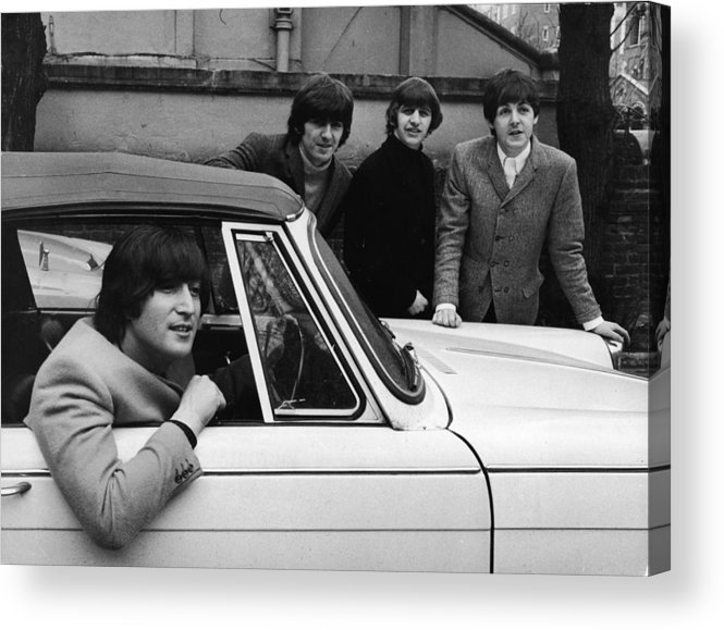 Rock Music Acrylic Print featuring the photograph Street Legal Beatle by Express Newspapers