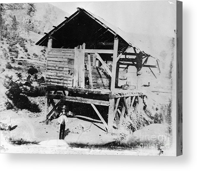 People Acrylic Print featuring the photograph Sutters Mill by Bettmann